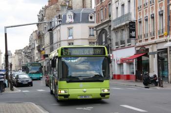 Citura - Irisbus Agora S n°233 & 232 - Lignes 5 & 8