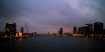 City Lights of Rotterdam