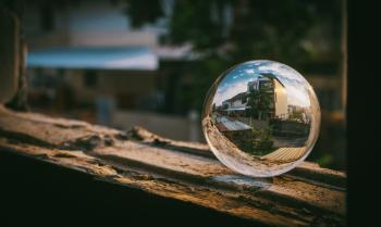 Clear Glass Sphere