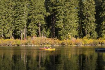 Clear Lake, Linn County, Oregon, Canoeing