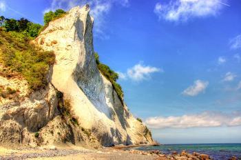 Cliff near the Ocean
