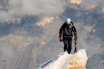 Climbing the Peak