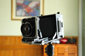 Close-up of Camera