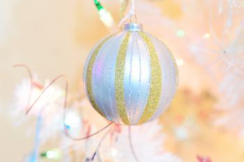 Close-up of Christmas Ball