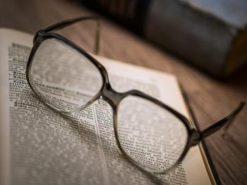 Close-up of Eyeglasses