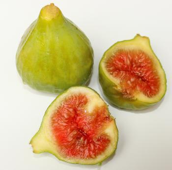 Close-up of ripe figs