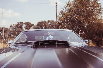Close Up Photo of Black Car