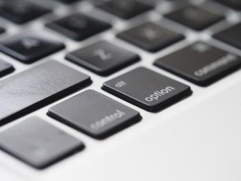 Close-Up Photography of Macbook Keyboard