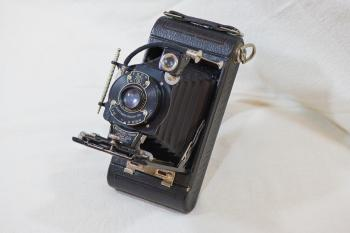 Close-up Photography of Vintage Camera