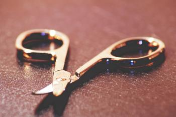 Close Up View of Scissors