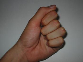 Closed fist