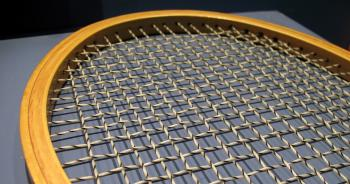 Closeup of a Tennis Racket