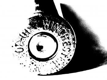 Closeup Winchester 30-30 Cartridge