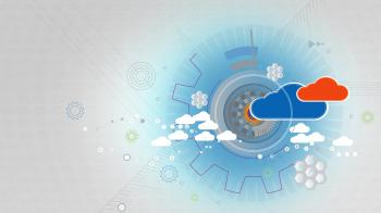 Cloud Computing - Cloud Infrastructure - Abstract Background
