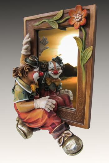 Clown through the Mirror