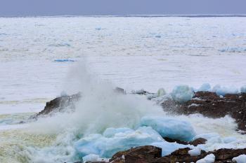 Coastal Ice and Sea