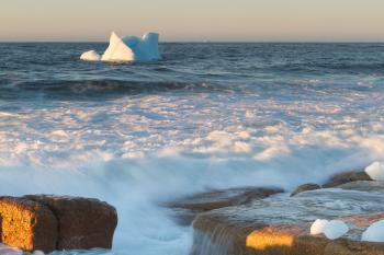 Coastal Icebergs