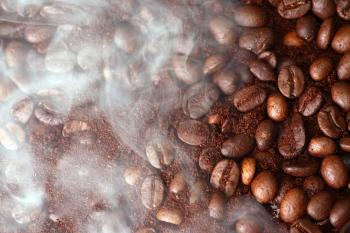 Coffee Beans and Aroma