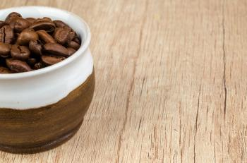 Coffee Beans in Bowl