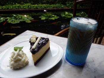 Coffee Cream and Cake Outside