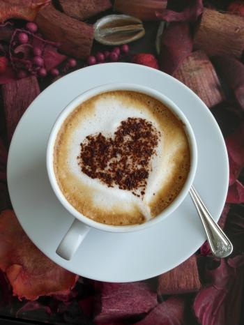 Coffee Heart Art