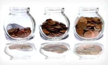 Coins in the jar - Savings
