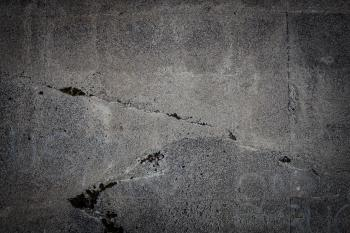 Cold and Cracked Concrete Texture