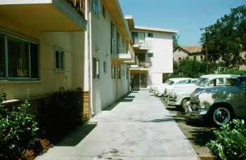 Coleman Avenue apartments, September 1960