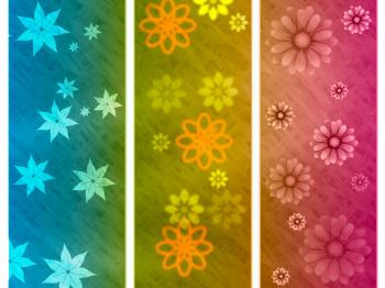 Color Background Indicates Abstract Environmental And Bouquet