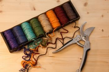 Colored Threads and Pliers
