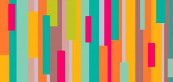 Colorful abstract rectangular pattern