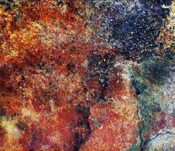 Colorful Slate Stone Background