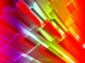 Colourful Bars Background Shows Graphic Design Or Digital Art