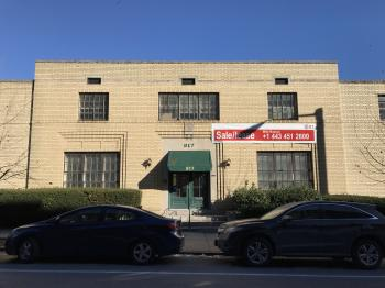 Commercial building, 817 N. Calvert Street, Baltimore, MD 21202
