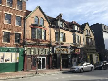 Commercial buildings, 1800 block of N. Charles Street, Baltimore, MD 21201