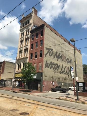 Commercial buildings, 313–315 N. Howard Street, Baltimore, MD 21201