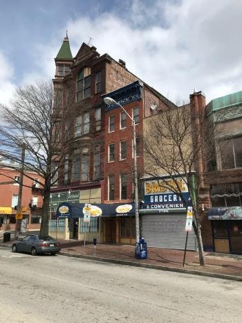 Commercial buildings, 500 block of S. Broadway, Baltimore, MD 21231