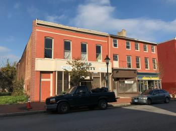 Commercial buildings (Solo Variety store), 1100-1106 W. Baltimore Street, Baltimore, MD 21223