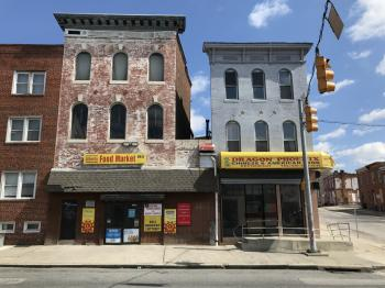 Commercial builldings, 1201 Greenmount Avenue, Baltimore, MD 21202