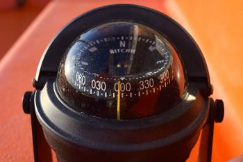 Compass on the Ship