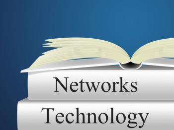 Computer Network Represents Global Communications And Connectivity