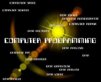 Computer Programming Indicates Software Design And Communication