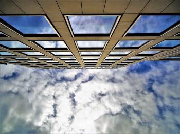 Concrete High-rise Building Photography