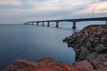 Confederation Twilight Bridge - HDR