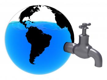 Conservation World Indicates Earth Friendly And Conserving