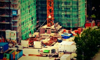 Construction Site Miniture
