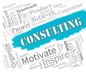 Consulting Words Represent Seek Advice And Explain