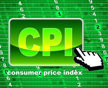 Consumer Price Index Represents Web Site And Website