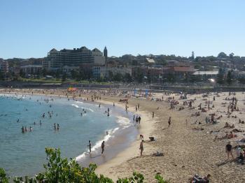 Coogee beach in Sydney Australia