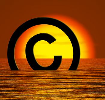 Copyright Symbol Sinking Meaning Piracy Or Infringement